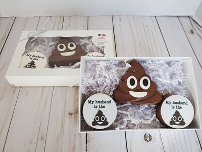 Emoji Poop Husband Oreo Gift Set