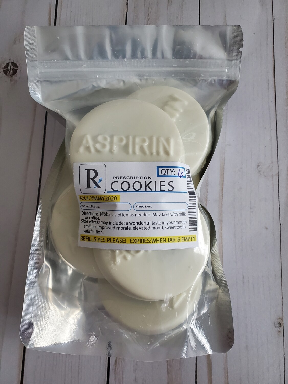 Aspirin Double Stuffed Oreos