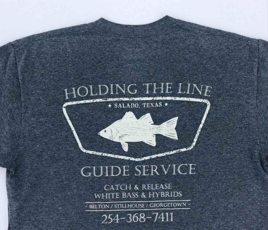 K. HOLDING THE LINE GUIDE SERVICE T-SHIRT