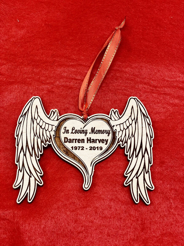 In Loving Memory Personalized Christmas Tree Ornament