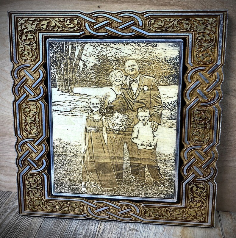 Wooden Laser Engraved Picture 13