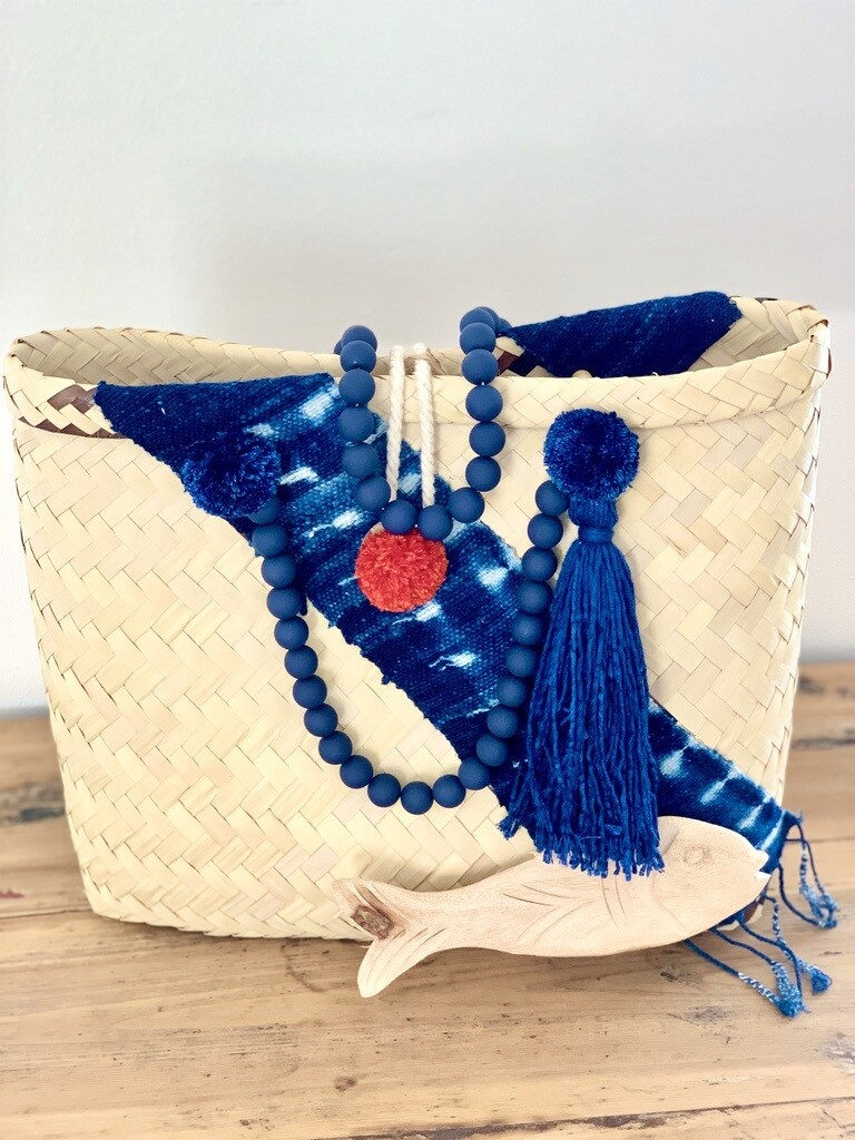 Blue Mud Cloth/Gootchi Handbag