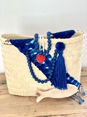 Blue Mud Cloth/Gootchi Handbag