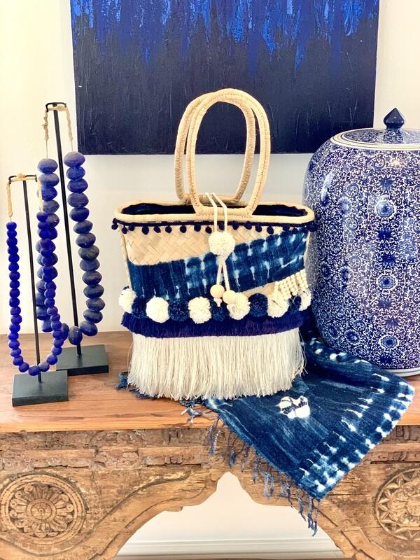 Boho Chic Indigo Blue/Gootchi Handbag