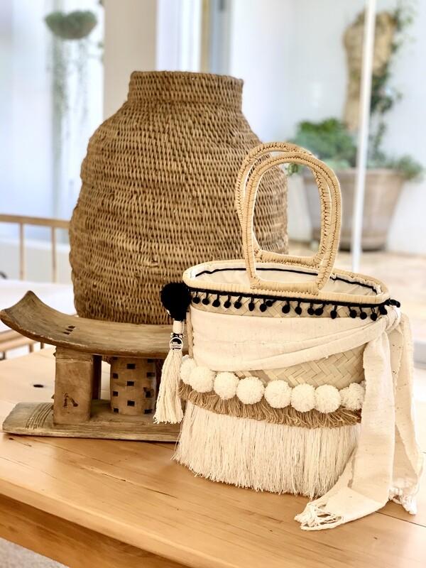 Boho Chic African mud cloth/Gootchi Handbag