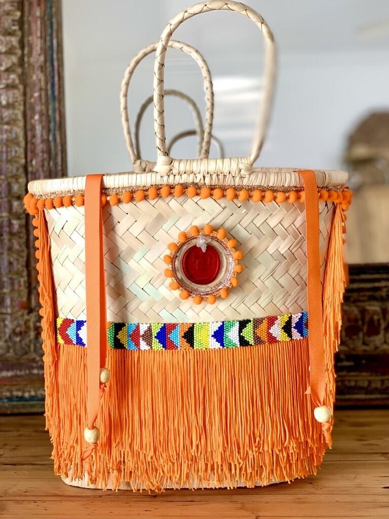 African Seed Bead Gootchi Handbag