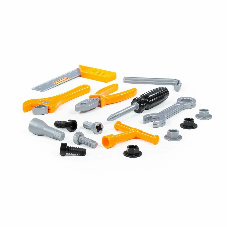 Полесье Набор инструментов №12 (17 элементов в пакете)