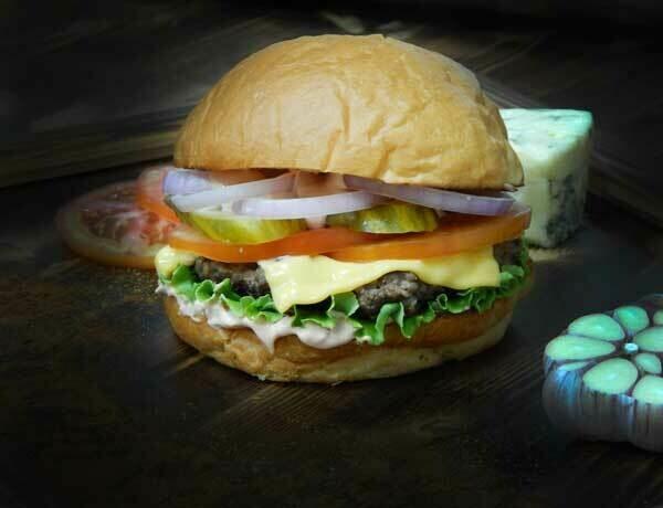 Бургер Апельсиновый