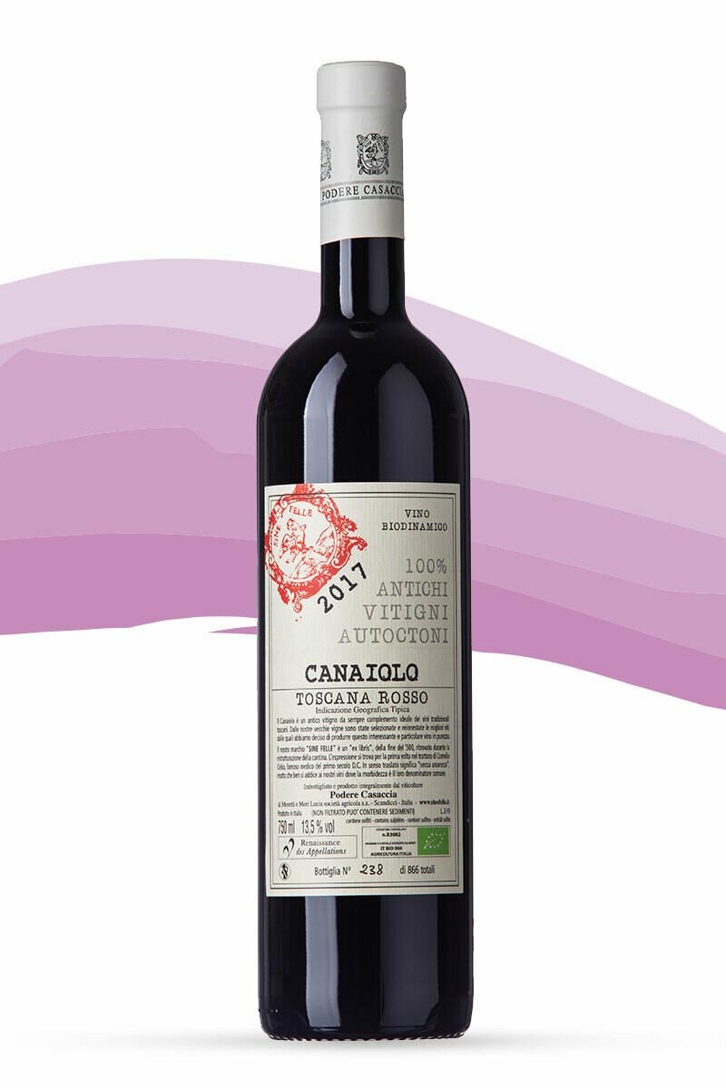 Canaiolo 2017 Toscana Rosso Podere Casaccia