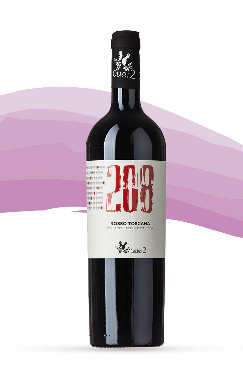 208 Toscana Rosso Quei 2 2017