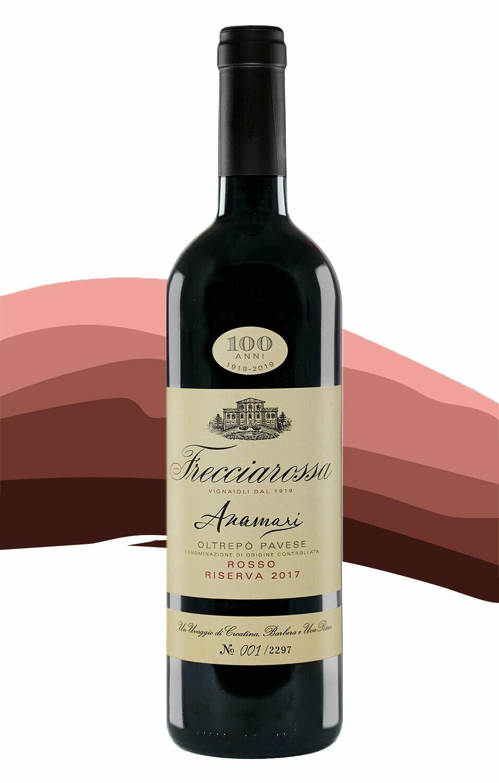 Anamari 2017 Riserva Oltrepò Pavese Rosso Frecciarossa - 6 bottles, +shipping.