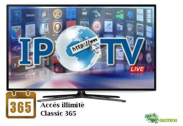 IPTV 12 MOIS FULL HD SD FHD + EPG (telefoot)