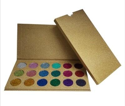 Diamond Glitter Pressed Powder Palette