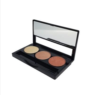 Signature Empty Eyeshadow Palette (3 well)