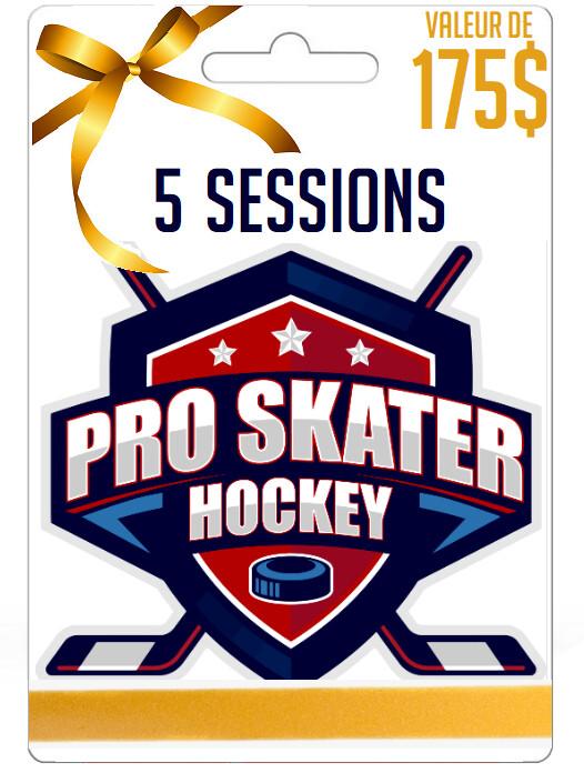 Carte Cadeau: 5 sessions (Valeur 175$)