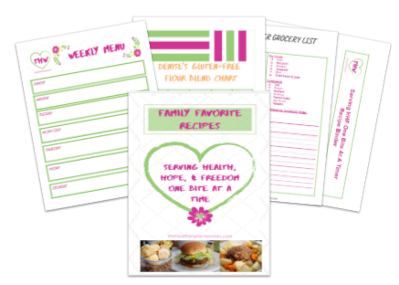 Family Favorites Recipe Binder, Recipes & MORE!