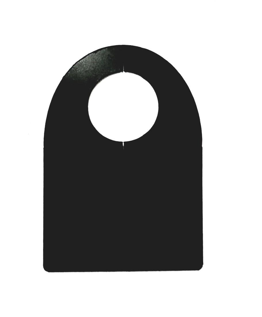 Ценник пластиковый на бутылку 70мм х 100мм