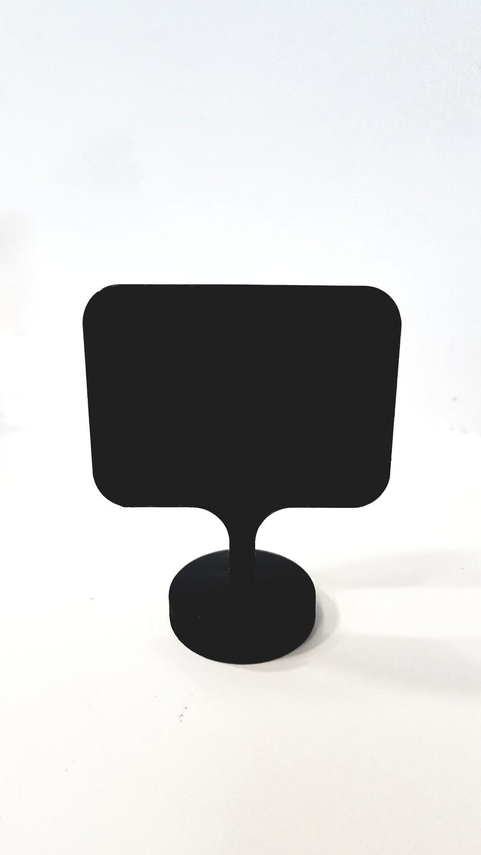 Ценник пластиковый на круглом основании