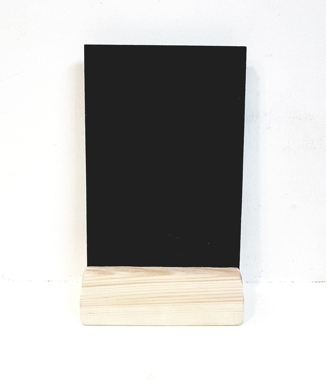 Ценник меловой на деревянной подставке