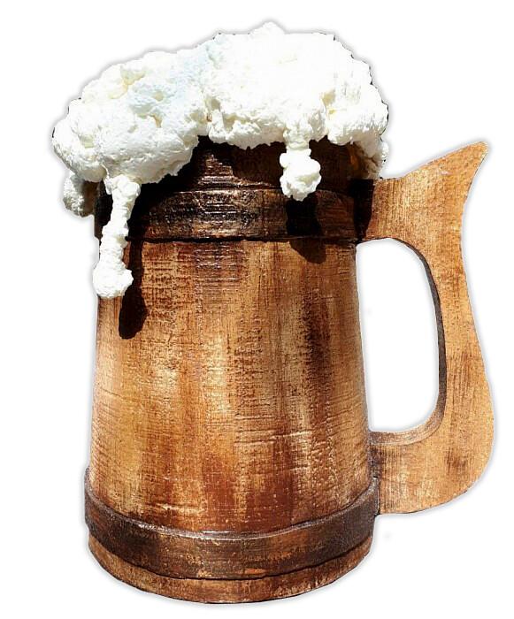 "Макет 3D ""Кружка пива"""