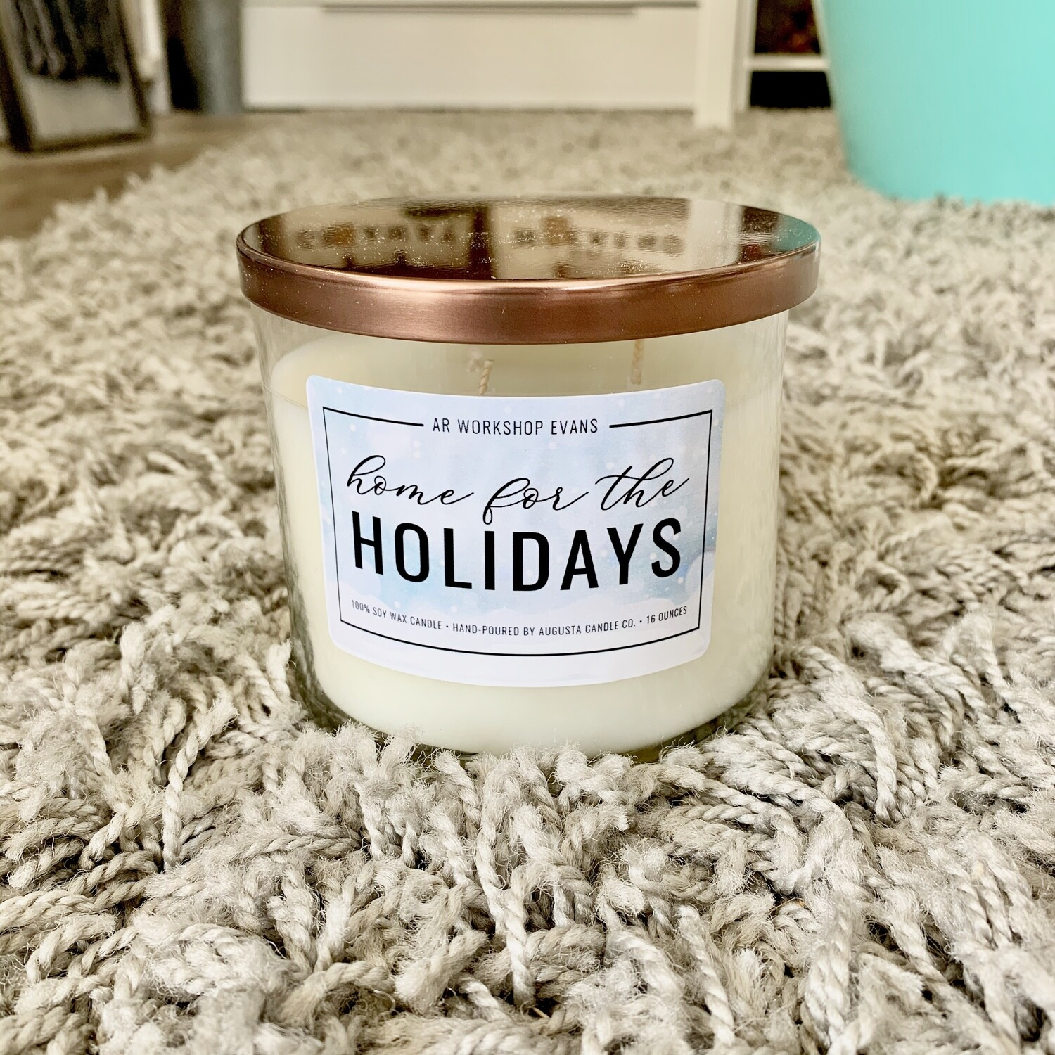 Home for the Holidays 16oz Candle