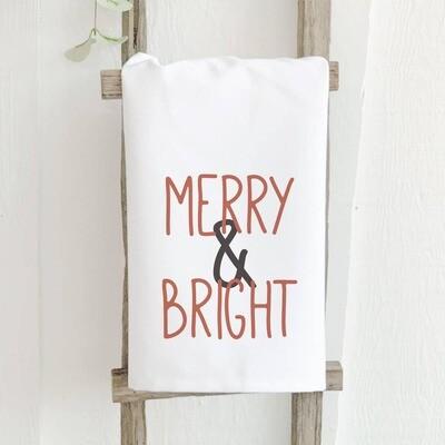 Merry & Bright - Cotton Tea Towel