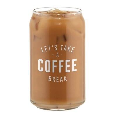 Coffee Break - Iced Coffee Glass