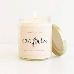 Congrats! Gift Candle