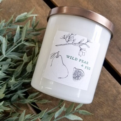 Wild Pear & Fig Candle