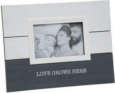 Love Grows Here Photo Frame