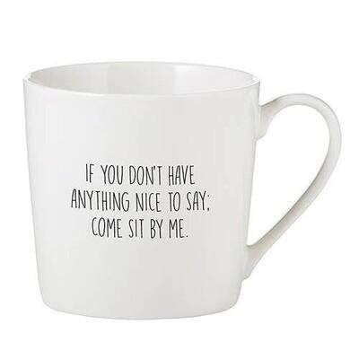 Cafe Mug - Nice To Say