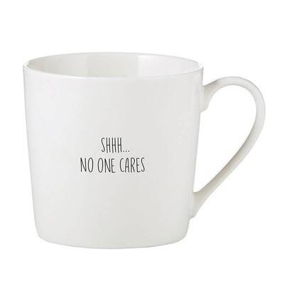 Cafe Mug - No One Cares