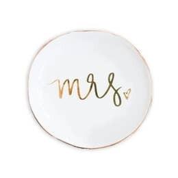 """Mrs."" Jewelry Dish"
