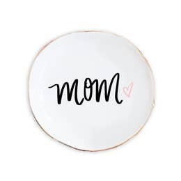 """Mom"" Jewelry Dish"