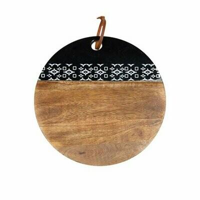 Round Cuttung Board