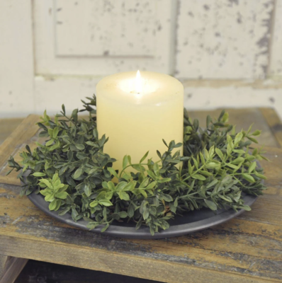 Greenery Candle Ring