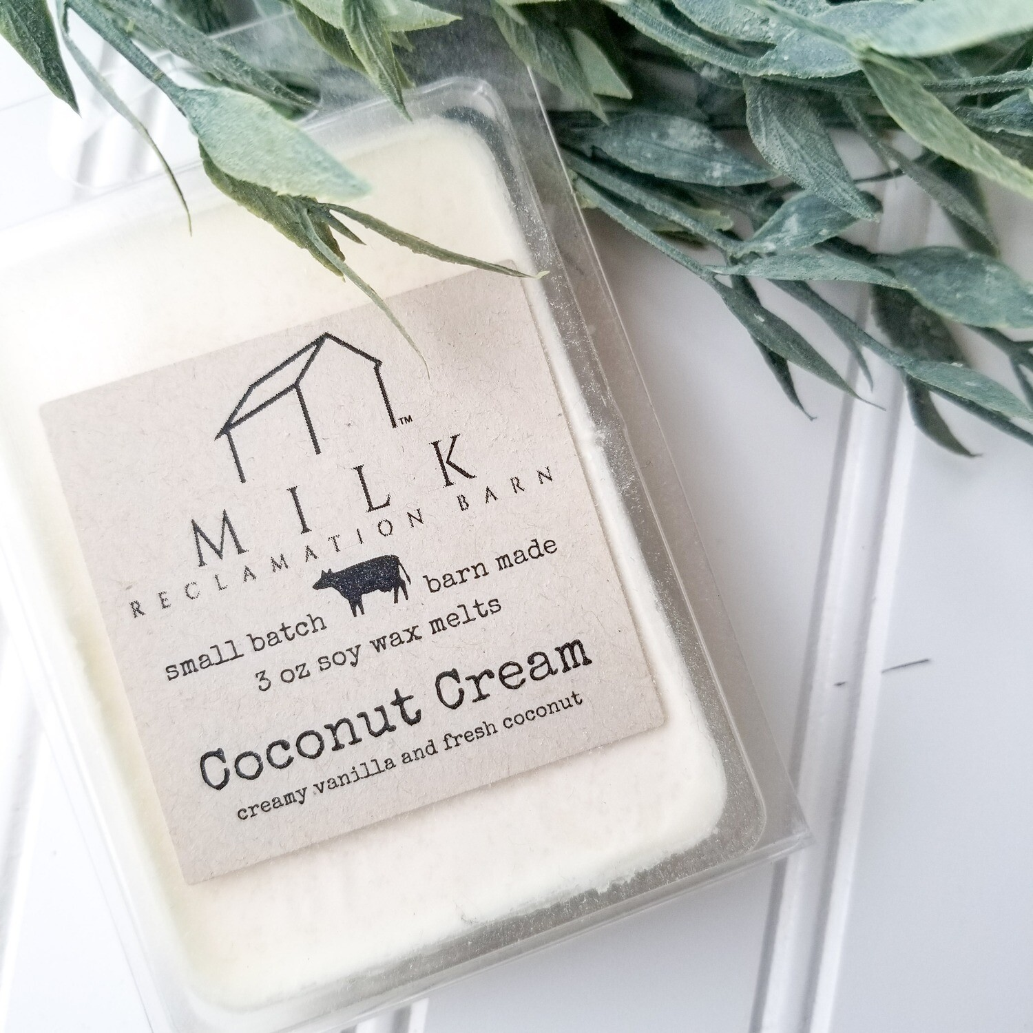 Coconut Cream Wax Melt