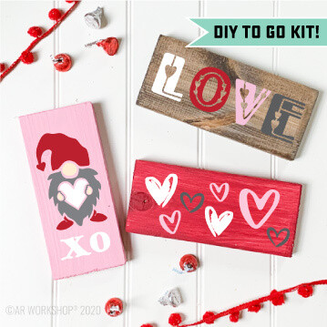 Valentine's Mini Block DIY Kit