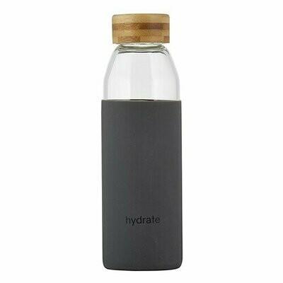 Hydrate Glass Bottle (18oz)