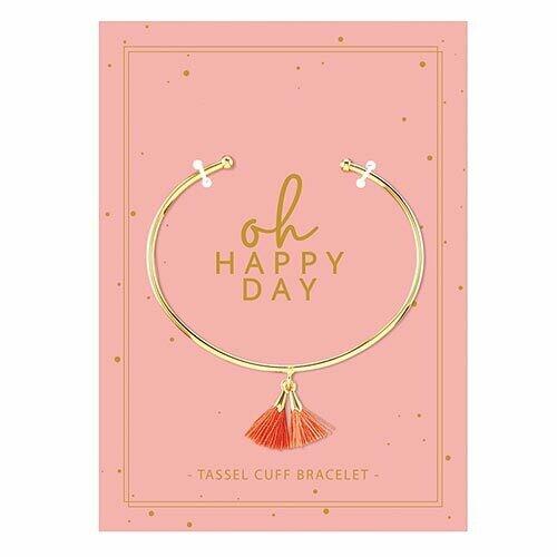 Oh Happy Day Tassel Bracelet