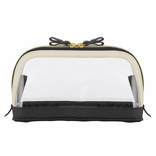 Clear Black Travel Pouch