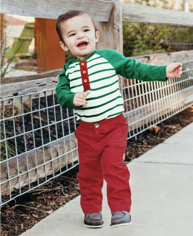 Cranberry Straight Chino Pants