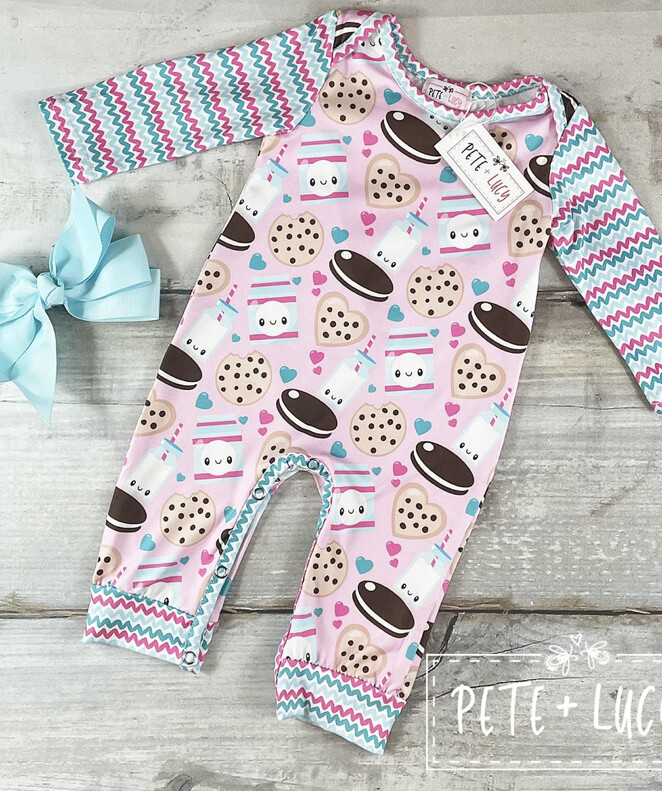 Milk & Cookie Romper