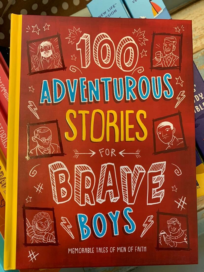 100 Adv Stories for Boys