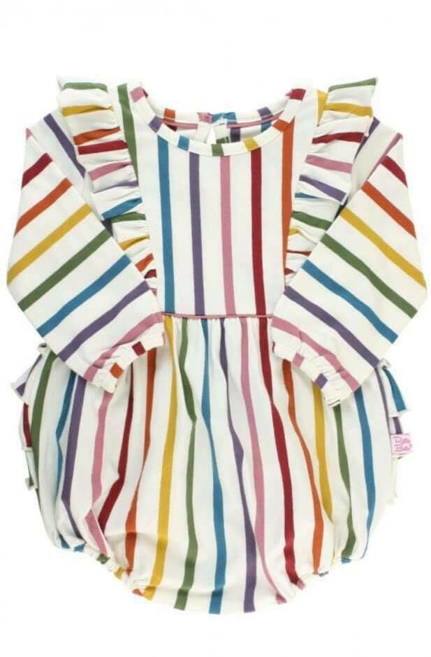 Rainbow Bubble Romper