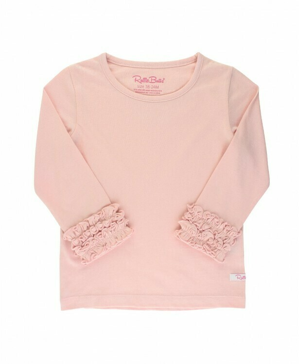 Ballet Pink Long Sleeve Tee