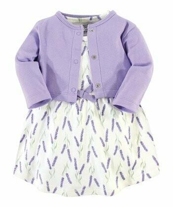 Lavender Dress/Cardigan