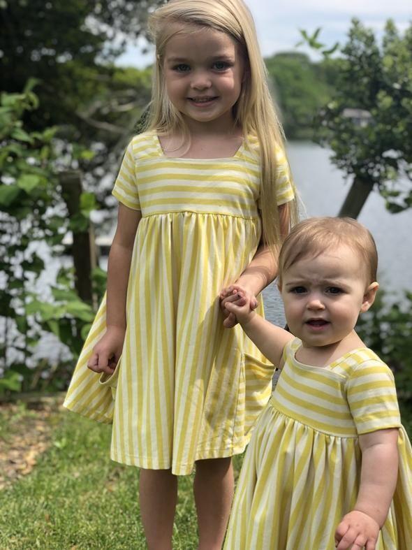 Rylie Dress-Lemon