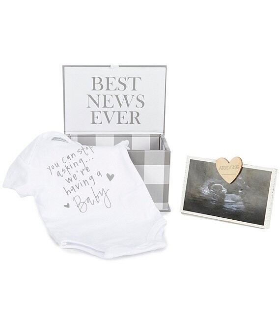 BABY ANNOUNCEMENT GIFT SET