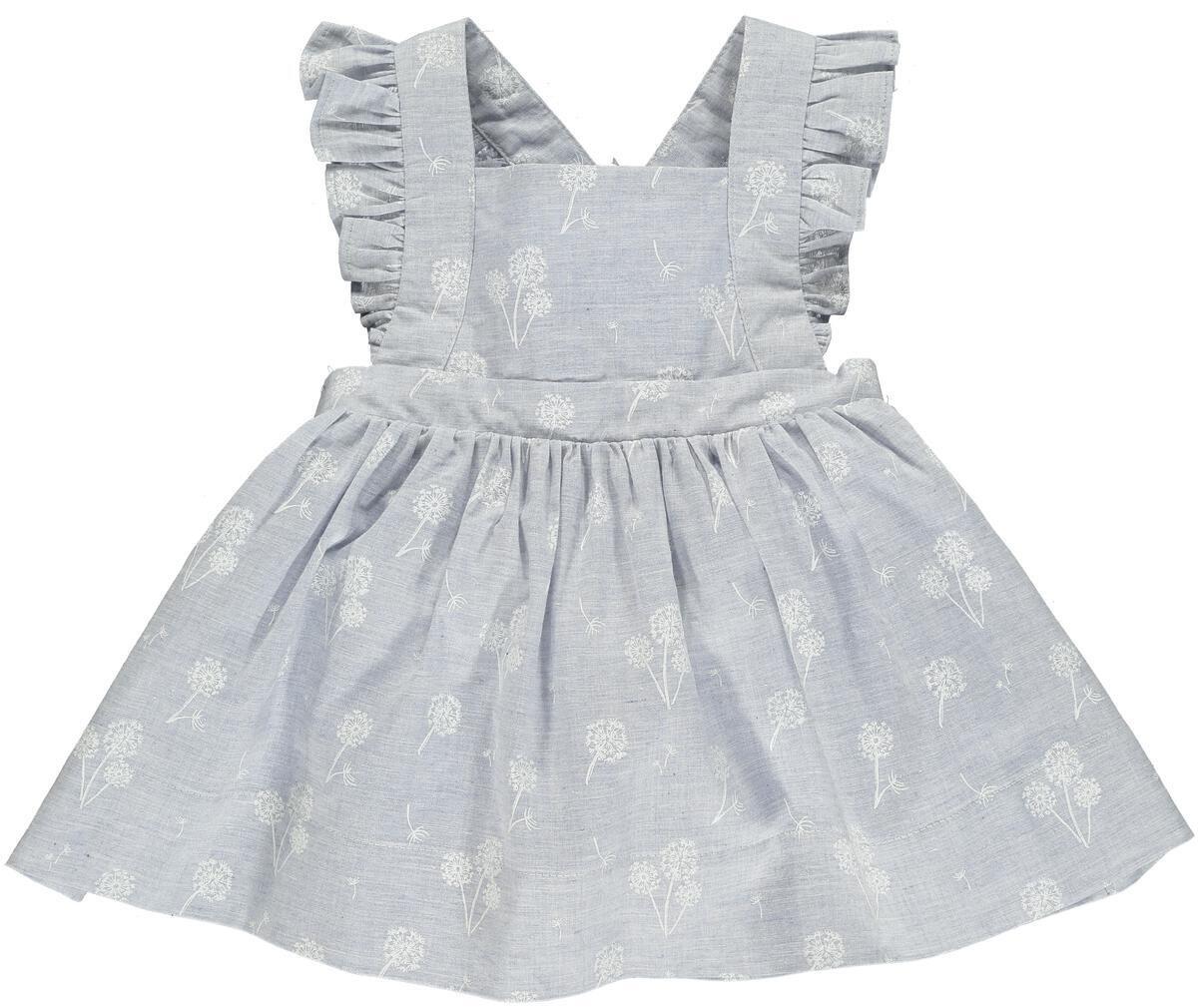 Maeve Dress-Blue Dandelion